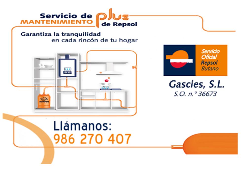 Precio revision gas butano repsol gallery of ao arrancar for Revision gas butano empresas autorizadas