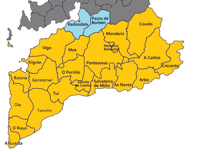 Mapa GASCIES